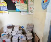 A pile of family planning clinic card at Adeoyo general hospital in Ibadan, South-west, Nigeria, November 7, 2012.