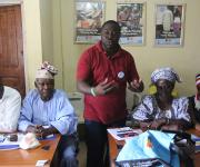 Members of the Advocacy Core Group on family planning attend a meeting in Ilorin in Nigeria's central state of Kwara, November 6, 2012.