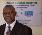 """Having a child is a serious project. One child is at least a 25 year commitment to provide from birth to when he stands on his own. It is only rational to plan the activity of having children. It can not be left to chance, it cannot be arbitrary."" - Dr.Aloysini Ebedi, Chief Medical Director, Bwari Gen Hospital, Abuja"