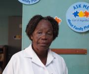Oyiboke Ohue Felicia, Matron in-charge Central Hospital, Benin City