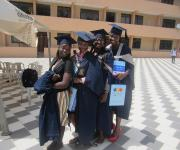 Proud University Graduates presented with family planning information at Uni-Ilorin Tanke Graduation ceremony